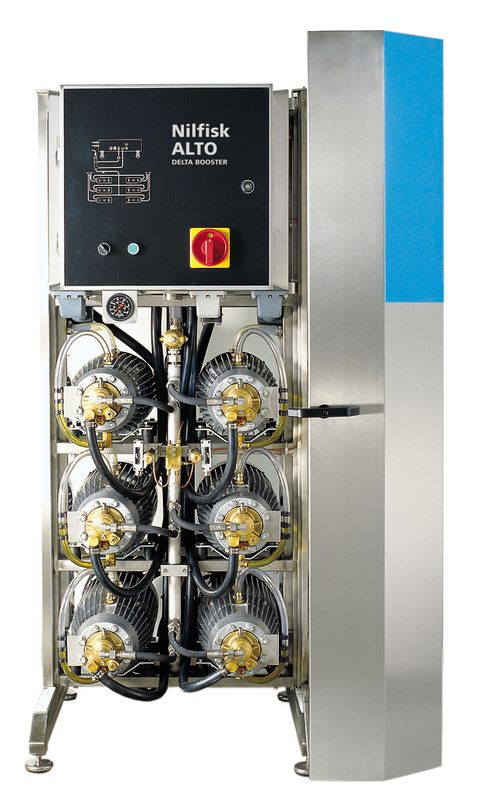 Nilfisk Alto Delta Booster 6-Pumps